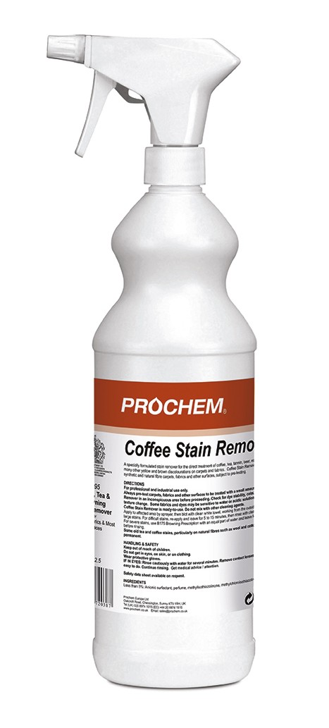 Coffee Stain Remover 1l Spray Lvc London Vacuum Company