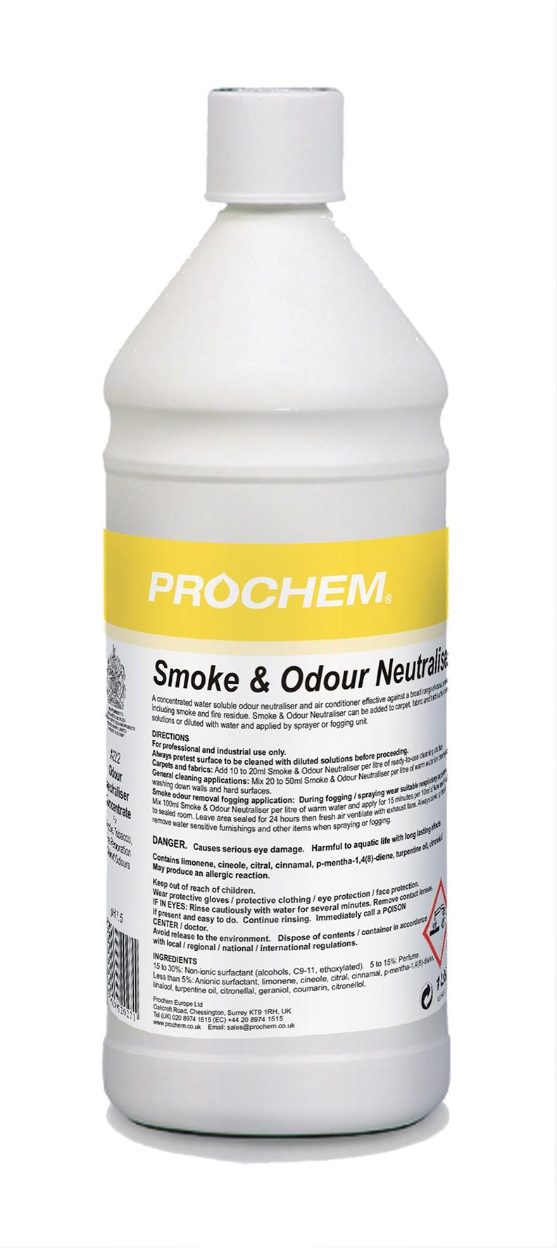 Smoke & Odour Neutraliser 1L